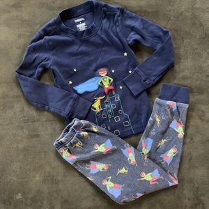 Superhero Cotton Pajama Set